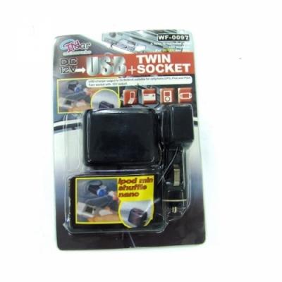 USB-переходник автомобильный PE-2937