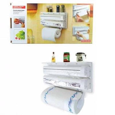 Держатель для кухни 3 в 1 - Triple Paper Dispenser