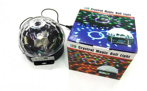 Светодиодный диско-шар mp3 SV-2860