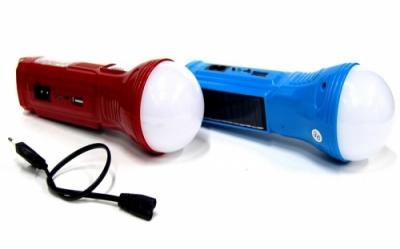 Фонарик+3 режима+аккумулятор+солнечная зарядка AW-5631 FN-669