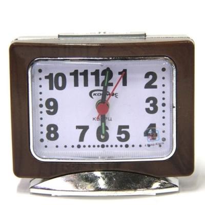 часы космос+будильник+подсветка 9009-1