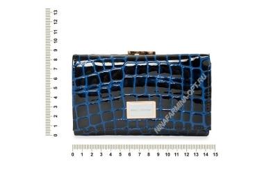 Кошелёк 9282_095-лаковая-кожа-крокодила-с-тиснением