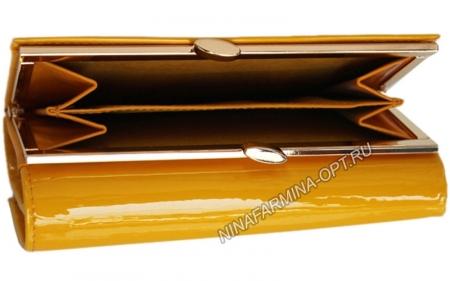 Кошелёк 9282_Yellow Лакированная кожа