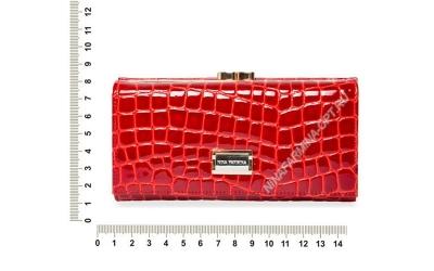Кошелёк 9287_094 натуральная-кожа-крокодила-с-тиснением