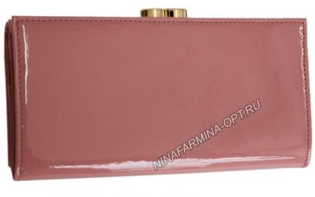 Кошелёк 9287_Pink Лакированная кожа