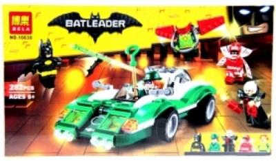 """Конструктор """"BELA"""" Batman Movie Конструктор Гоночный автомобиль Загадочника 10630"""