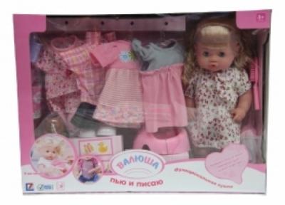 Кукла Валюша с платьями 30800-13С