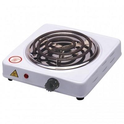 Настольная электроплитка 1-х комфорочная со спиралью Hot Plate, мощность 1000w