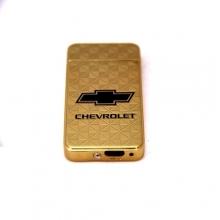 Электронная USB зажигалка с аккумулятором Chevrolet Elite LK-100