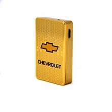 Электронная USB зажигалка с аккумулятором Chevrolet  LK-102