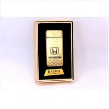 Электронная USB зажигалка с аккумулятором HONDA Elite LK-103