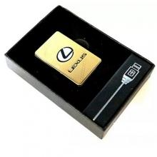 Электронная USB зажигалка с аккумулятором Lexus Elite LK-106