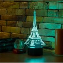3D ночник Эйфелева башня  (3 режима) 1091