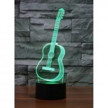 3D ночник Гитара (3 режима) 1101