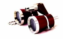Бинокль театральный 3x25 в комплекте входит футляр AW-16 BN-040-2