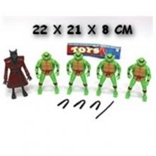 Герои мультфильмов в пакете (светящиеся)  GR-2072-401