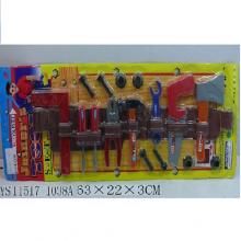 Набор строительных инструментов на блистере 63х22х3см NB-1038A