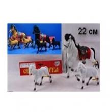 """Набор лошадок """"Сивка-бурка"""" (разные цвета), в пакете LS-2548"""
