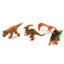 """Пластизолевые игрушки """"Dinosaurs"""" в пакете  GR-7-004A"""