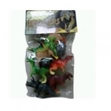"""Пластизолевые игрушки """"Dinosaurs"""" в пакете  GR-5-006A"""