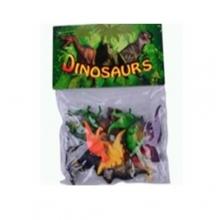 """Пластизолевые игрушки """"Dinosaurs"""" в пакете  GR-2-012"""