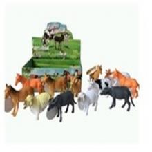 """Пластизолевые игрушки """"Farm animal"""" в коробке  GR-588-1"""