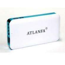 зарядка портативная Power Bank AT-D2015+2USB+фонарик 7200 mAh