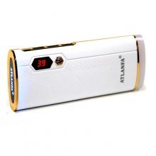 зарядка портативная Power Bank AT-D2023+3USB+экран+фонарик 18000 mAh
