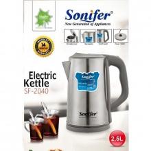 Чайник электрический Sonifer, объем 1.7л, мощность 1500w SF-2040