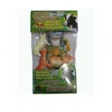 """Пластизолевые игрушки """"Farm animals"""" в пакете  GR-7-006A"""