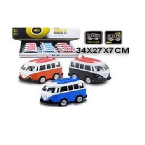 Автобусы Volkswagen металл. в ассортименте VT-66-Q2111