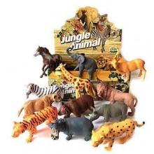 "Пластизолевые игрушки ""Jungle animal"" в коробке  GR-588-4"
