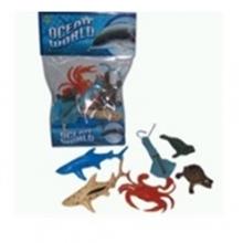 """Пластизолевые игрушки """"Ocean world"""" в пакете  GR-7-006A/B/C"""
