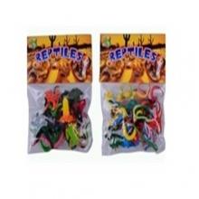 "Пластизолевые игрушки ""Reptiles"" в пакете (2 вида)  GR-2-012EF"