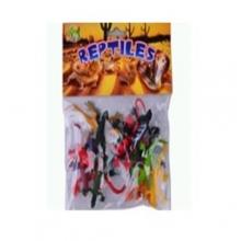 "Пластизолевые игрушки ""Reptiles"" в пакете  GR-X2-012A"