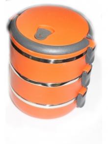 MH-1369 Ланч бокс (3 отделение) термо