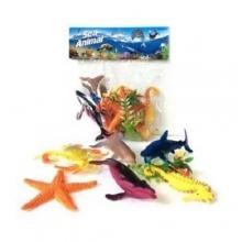 """Пластизолевые игрушки """"Sea animal"""" в коробке  GR-H588-1"""