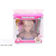 Голова куклы с аксессуарами в коробке  KK-2213-7