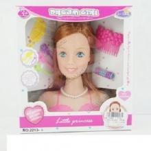 Голова куклы с аксессуарами в коробке  KK-2213-8
