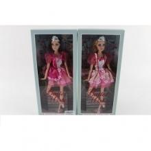Кукла балерина шарнирная, 2 вида, в коробке  KK-885-1