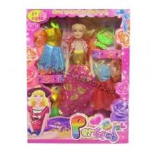 Кукла с аксессуарами в коробке  KK-20123-4