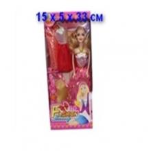 Кукла с аксессуарами в коробке  KK-20122D1