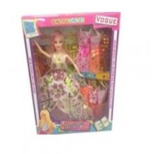 Кукла с платьями в коробке  KK-885-3