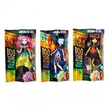 Кукла шарнирная с аксессуарами (2 вида), в коробке  KK-2035