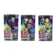 Кукла шарнирная с аксессуарами (3 вида), в коробке  KK-2125