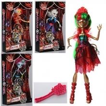 Кукла шарнирная с аксессуарами (4 вида), в коробке  KK-2025