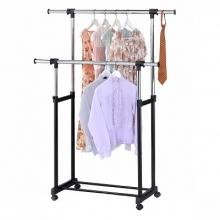 Металлическая вешалка гардеробная двойная.YX hanger 15кг