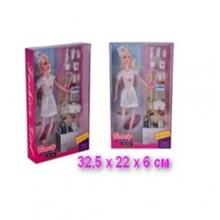 Кукла-доктор с аксессуарами, в коробке  KK-852-D1