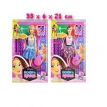 Куклы в ассортименте музыкальные с аксессуарами , в коробке  KK-1018-2