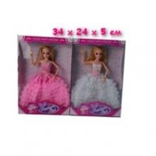 Куклы в ассортименте шарнирные, в коробке  KK-23-2